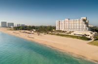 View of Harbor Beach and the Fort Lauderdale Marriott Harbor Beach  Resort & Spa