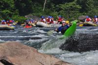 Water Sports on the Youghiogheny River, Ohiopyle State Park