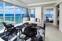 W Fort Lauderdale room overlooking the beach and ocean.