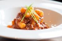 Korean Braised Goat Dumplings from Underbelly Restaurant in Houston