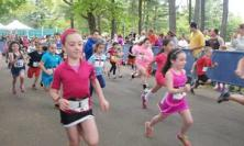 A scene from the 1K Kids' Run at last year's event