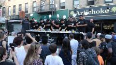 3rd Annual Artichoke Pizza Eating Contest