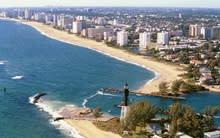 Pompano Beach Coastline View
