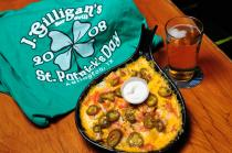 Irish Nachos at J. Gilligan's in Arlington, Tx