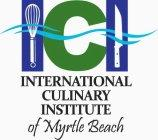 International Culinary Institute of Myrtle Beach logo