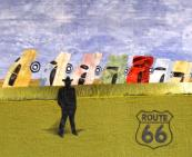 In 2013, the Route 66 Traveling Quilts collection of 56 quilts honoring the historic highway that spans eight U.S. states will travel to the Great Lakes Seaway Trail Beauty of the Byways Quilt Show in Sackets Harbor, NY, March 16-17 and March 23-24, 2013.