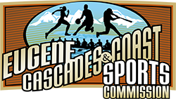 eugene cascades coast sports Commission horizontal logo