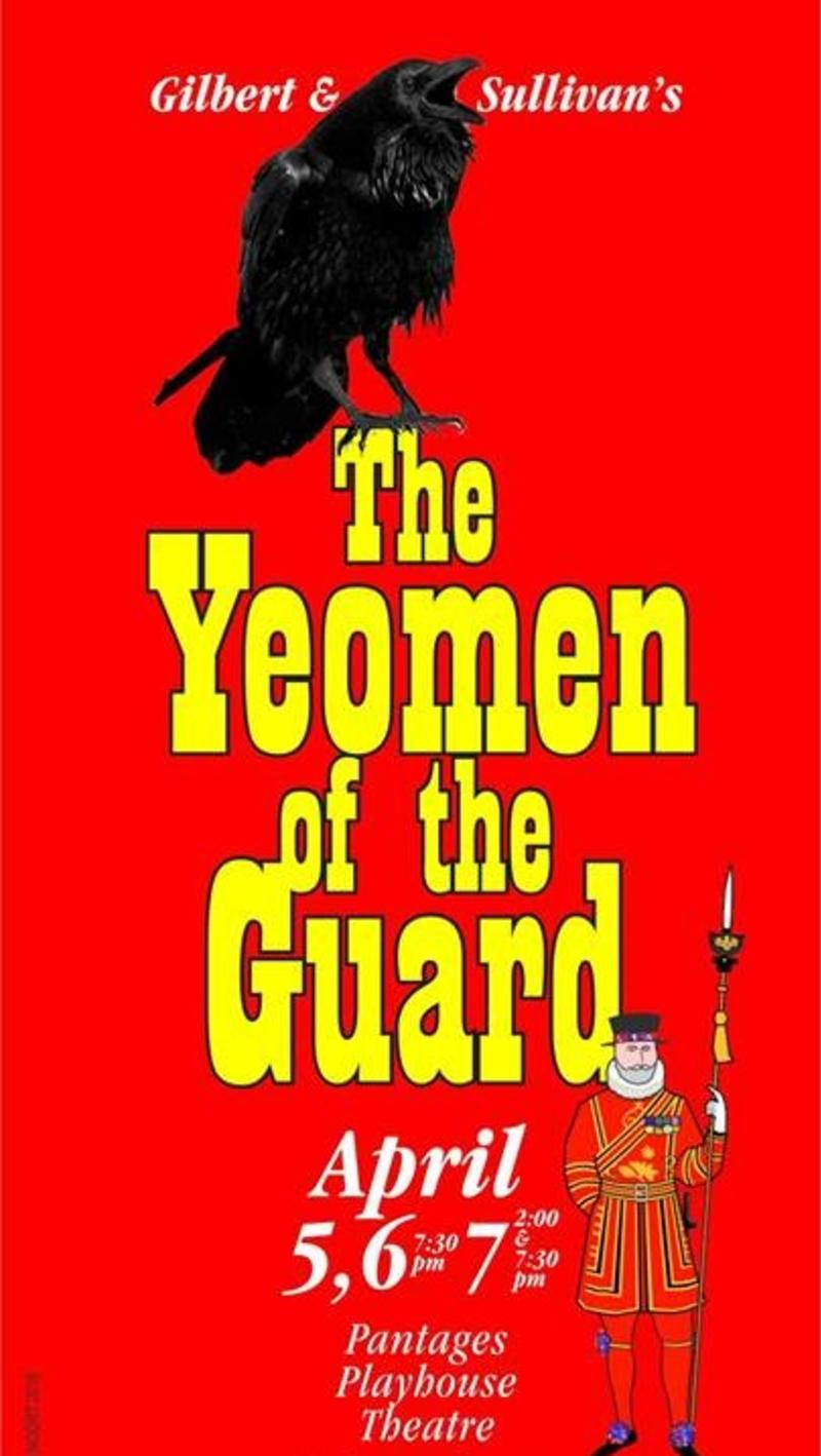 The Yeomen of the Guard_Pantages Playhouse Theatre