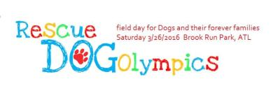 Rescue Dog Olympics Logo