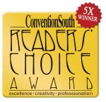 5X winner of Convention South Readers Choice Award