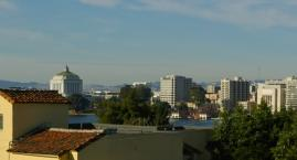 Late morning view Oakland