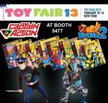CA Enterprises, makers of the Captain Action action figure line, is just one of the over 1,000 manufacturers, distributors, importers and sales agents appearing at the 110th International Toy Fair Feb. 10-13 in New York City.