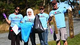 Shoreline Cleanup through Vancouver Aquarium