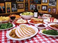 Thanksgiving at Bucca di Beppo