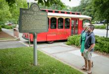 Trolley Tours downtown