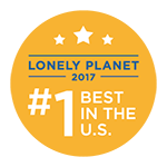 Lonely Planet badge
