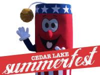 Cedar-Lake-Summerfest logo