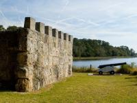 Fort Frederica is a popular and free historical attraction for kids in the Golden Isles of Georgia