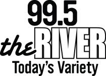 99.5 the River Logo