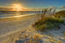 Sunrise on Daytona Beach
