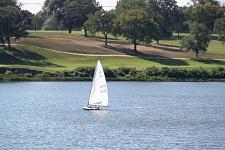 Sailing at Lake Shawnee