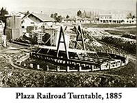 Plaza Railroad Turntable 1885