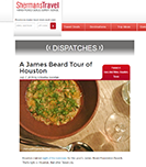 Sherman Travel James Beard Article