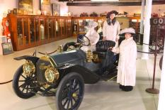 A 1909 Thomas Flyer, a one-year-older model of car that won the original 1908 Great Race, is on display at the Buffalo Transportation-Pierce Arrow Museum where the 2012 race will make its second stop on the Great Lakes Seaway Trail National Scenic Byway. Photo: courtesy of Buffalo Transportation-Pierce Arrow Museum