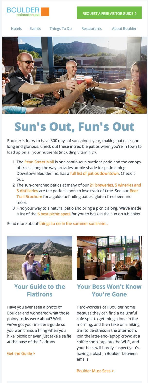 Boulder Newsletter