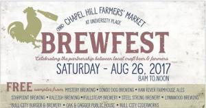 Chapel Hill Farmer's Market event - Brewfest