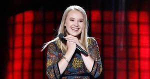 "Addison Agen on NBC's ""The Voice"""