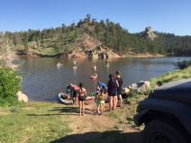 paddleboard Mountain sup