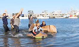 Cardboard Boat Building Challenge