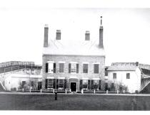 Fort Ontario in the late 19th century
