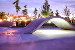 The Forks Plaza Skate Park