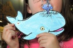 Whale Craft at the Kids' Adventure Club