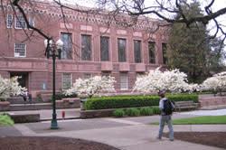 University of Oregon Campus by Andrea Hartman