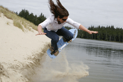 Sand Boarding by Julia Carr