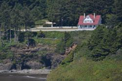 Heceta Head Lighthouse B&B by Samantha Inouye