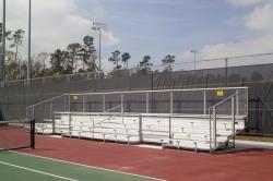 Tennis bleachers example