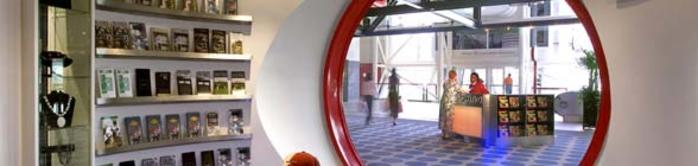 Houston Visitor Center Interior