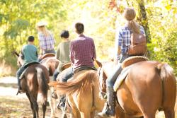 Horseback Riding at Fernwood Resort in the Pocono Mountains