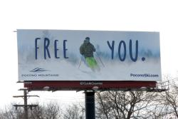 2017 Winter Marketing Campaign - Billboard - Ski Committee