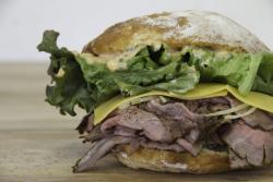 Roast Beef Sandwich at Creswell Bakery
