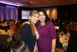 Houston First Arcy Munoz with Dr. Laura Murillo, CEO, HHCC