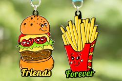 FRIENDS FOREVER 5K 2018 – YOU ARE THE BURGER TO MY FRIES