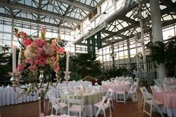 Conservatory Wedding reception