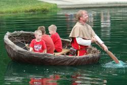 DIF boys in boat