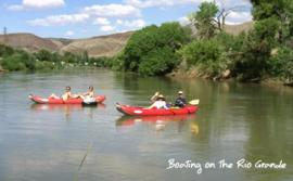 Boating on Rio Grande