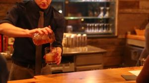 Great Northern Distilling Mixing a Drink